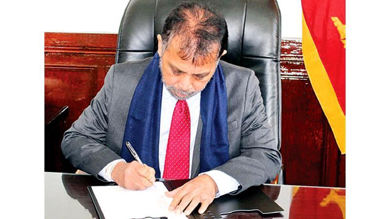 Dr. Palitha Kohona assumes duties as Sri Lankan Ambassador to China
