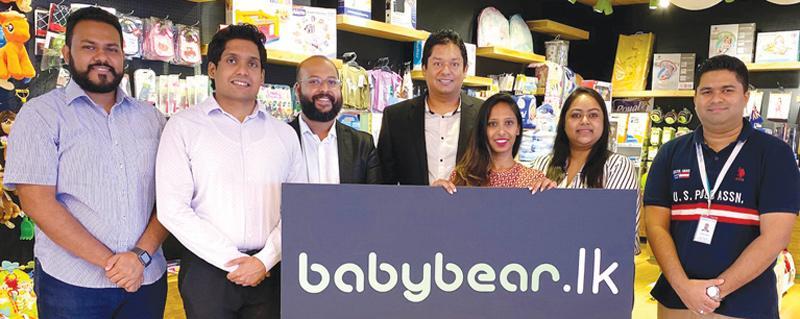 From left: (Antyra Solutions) - AM Projects, Eshan Fernando, AM, Client Servicing, Usitha Dheerasinghe, CEO Niranka T. Perera. (Babybear) - MD Rae Devadason, (Global Payments) - Dilani de Silva, RM Nilanthi Kulatunga, and Regional Manager Thouseef Ahmed.