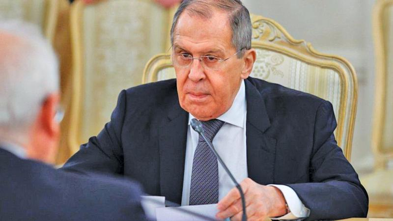 Russia's Sergei Lavrov had a frosty meeting with the EU foreign policy chief a week ago