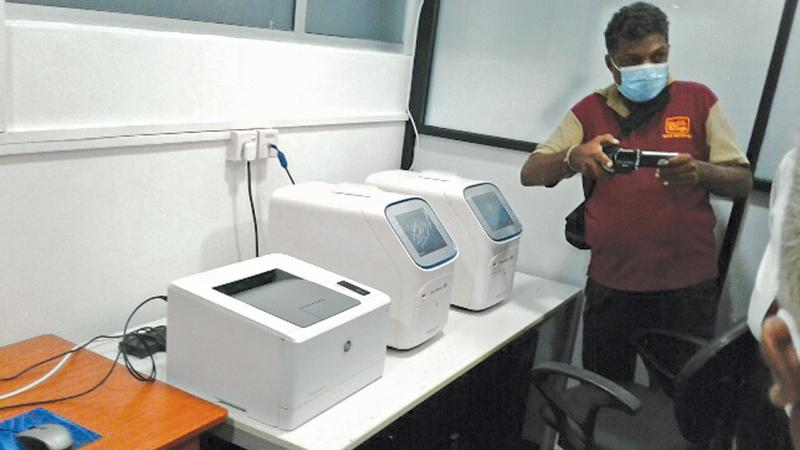 The new PCR machines
