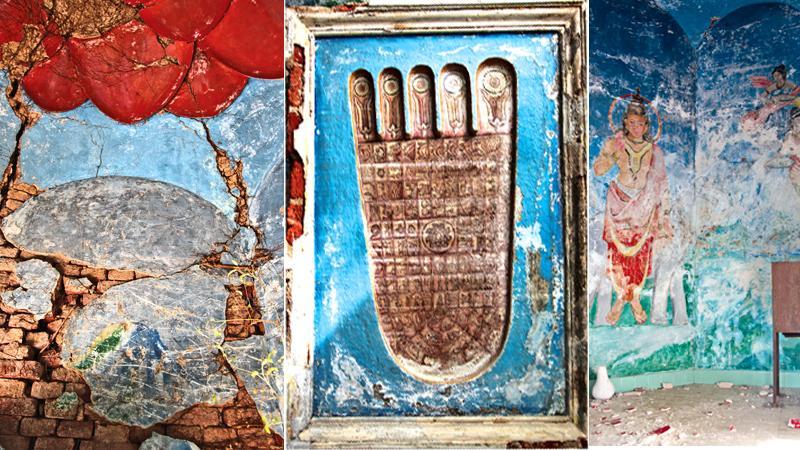 Frescos of the Sri Subodharama  Raja Maha Vihara, Dehiwala
