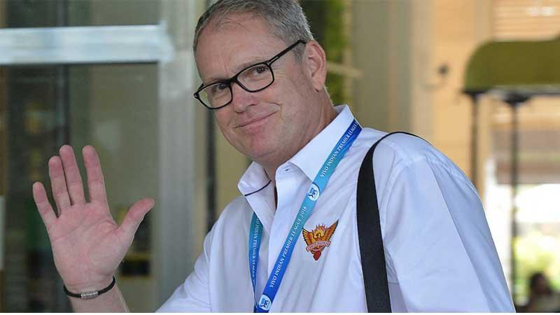 Tom Moody arrives in Sri Lanka
