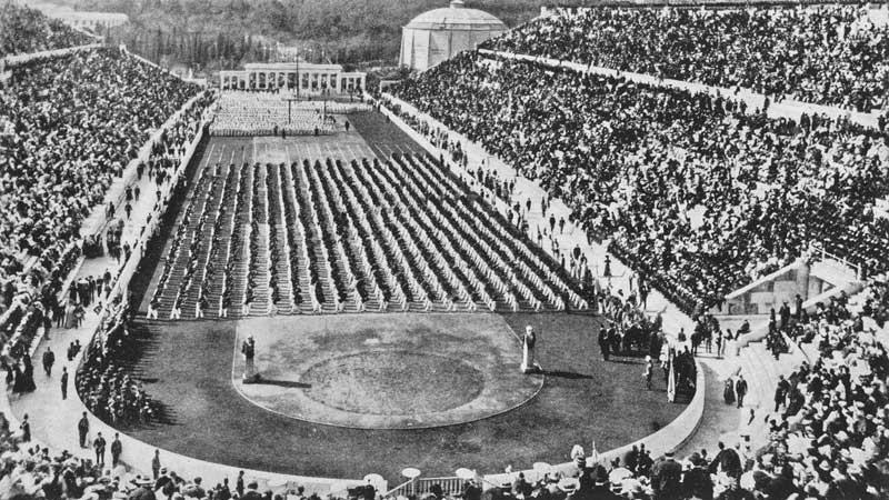 April 6, 1896: The Opening Ceremony of Athens 1896