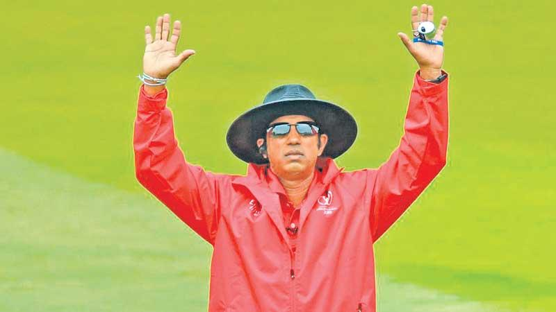Observer Schoolboy Cricketer of the Year 1989 Kumara Dharmasena, now going great guns as an ICC Elite Panel umpire