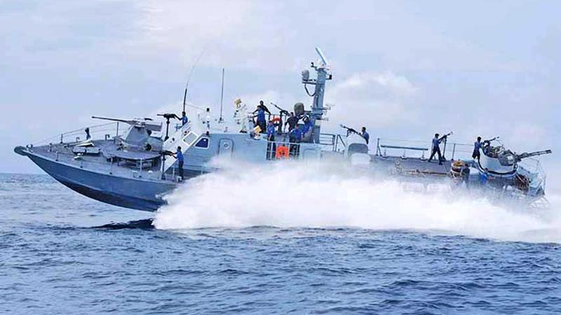 A fast attack craft