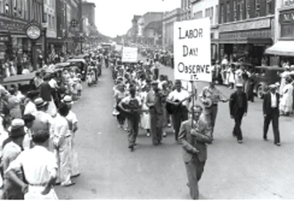 Protests carried out by Labour unions