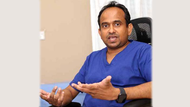 Dr. Chandima Jeewandara. Pic: Rukmal Gamage