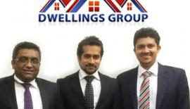 L to R: Directors of Dwellings Group Sanjika Abeyratna, Theekshana Somaratna and Navin De Silva