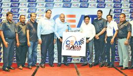 Representatives  of SLADA and  CEAT Kelani Holdings  after signing  the sponsorship agreement.