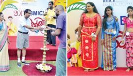 BMICH employees and their families enjoy a number of very special Avurudu activities, including Sack Race, Singithi/Wadihiti Avurudu Kumara/Kumariya, Fancy Dress Parade, Lissana Gaha (Greasy Pole).
