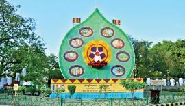 The 40 feet high Pandal