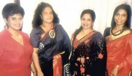 Ruchira, Delani, Anusha and Gayanee