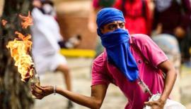 Protesters and police clashed in several cities across Venezuela