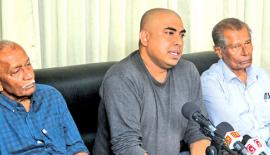 Organisers at the press conference (Pic: Sudam Gunasinghe)