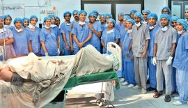 The team which performed  the surgery