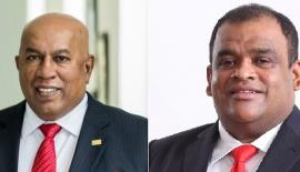 Mohan Pandithage (Chairman and Chief Executive) and Dhammika Perera (Co-Chairman)