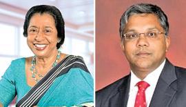 Chairperson of HNBA and HNBGI, Rose Cooray and Managing Director/CEO HNBA and HNBGI, Deepthi Lokuarachchi