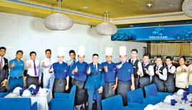 The award winning team at the Ocean-Kingsbury