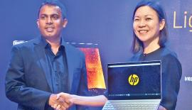 HP launched Envy and Pavilion laptops recently. Pic: Vipula Amarasinghe