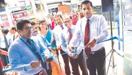 Newly refurbished Negombo branch was ceremonially opened by Nimal  C. Hapuarachchi – General Manager / Chief Executive Officer of SDB bank