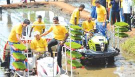 Launch of Wagaa Sangraamaya (Pic: Sudath Malaweera)