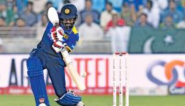Lahiru Thirimanne scored 53 out of the 95 runs scored by Sri Lanka's top six batters.
