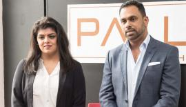 Head of Sales and Legal Officer of Palladium Holdings, Abida Tariq (left) and Founder and Director of Palladium Holdings, Shamrin Mohamed at the media briefing.