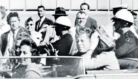 John F Kennedy was shot dead on November 22, 1963, in Dallas in Texas