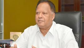 Minister of Special Assignments Dr. Sarath Amunugama