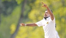 Malinda Pushpakumara's six wickets has placed Sri Lanka A with a chance of forcing a win over West Indies A in the second unofficial test being played at Jamaica.