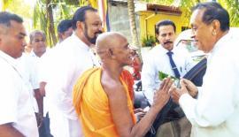 Speaker opens Dharma Mandiraya