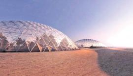 UAE's planned Mars domes are intended as a dress rehearsal for growing food on Mars itself