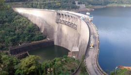 The Victoria Dam (Pic: Susantha Wijegunasekera)