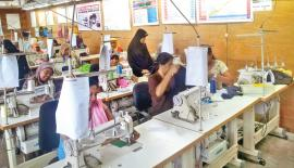 Each factory is provided with a range of high end apparel machinery.