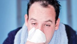 Dr Sue argues that research points towards men having a weaker immune response to common viral respiratory infections and the flu.  Pic: Alan Thornton/Getty Images