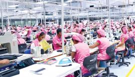 The manufacturing sector has become the primary means of labour absorption and has helped promote the structural transformation of the Sri Lankan economy since the 1980s. File pic: Lake House Media Library