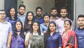 GroupM Sri Lanka became the country's most awarded media agency in 2017 at the Campaign Asia Agency of the Year Awards in Mumbai