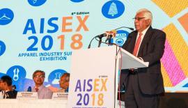 Sri Lanka Apparel Institute Chairman Prof. Lakdas Fernando