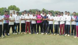 Dharmaraja College cricket squad