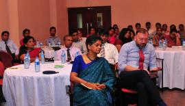Some of the participants at the lecture