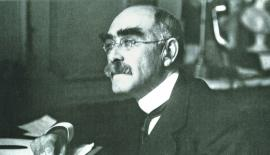 Caption for pic: Rudyard Kipling