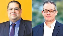 Ravi Dadlani and Darren Roos
