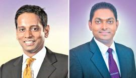 Ruwan Manatunga and Dhananjaya Samaraweera