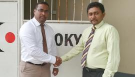 IT Manager Tokyo Cement PLC - Ranga Gamage and General Manager, Providence Global - Asela Mudannayake