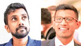 Lahiru Pathmalal and Adil Mansoor