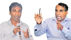 Manjula Gajanayake and Rohana Hettiarachchi