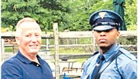 Trooper Michael Patterson and Matthew Bailly