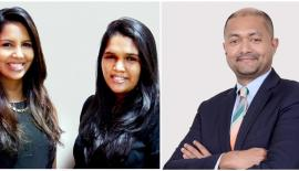 Bakamuna CEO Rochelle Bibile, MTI's Venture Manager for Bakamuna Malithi Herath and Hilton Colombo General Manager Manesh Fernando