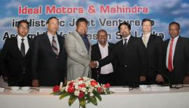 At the signing of the agreement in April.
