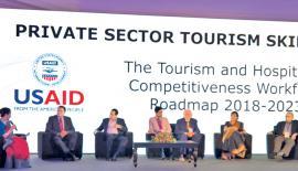 At the launch of the Roadmap    Pix: chaminda niroshana